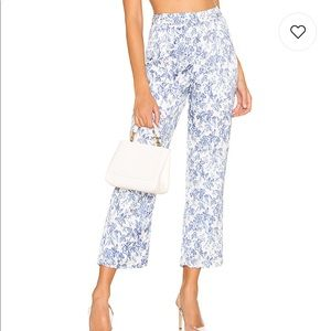 Lovers + Friends Audra Pant in French Blue